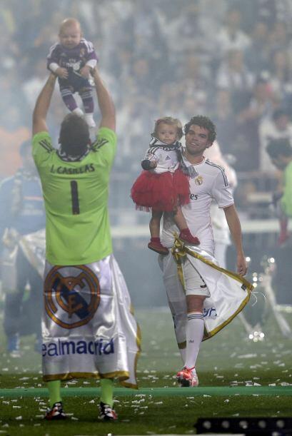 Pero Casillas nos mostró que en estos cinco meses ya ha aprendido cómo c...