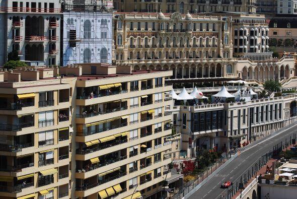 Las calles del principado de Mónaco se convierten en la mejor pista de c...