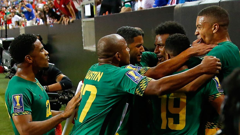 Los 'Reggae Boyz' eliminaron a Estados Unidos de la justa de Concacaf.