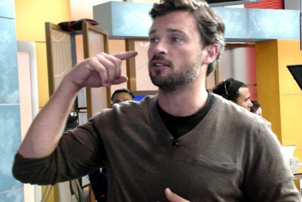 El actor llegó a nuestra casa para hablar de 'Draft Day', su más recient...