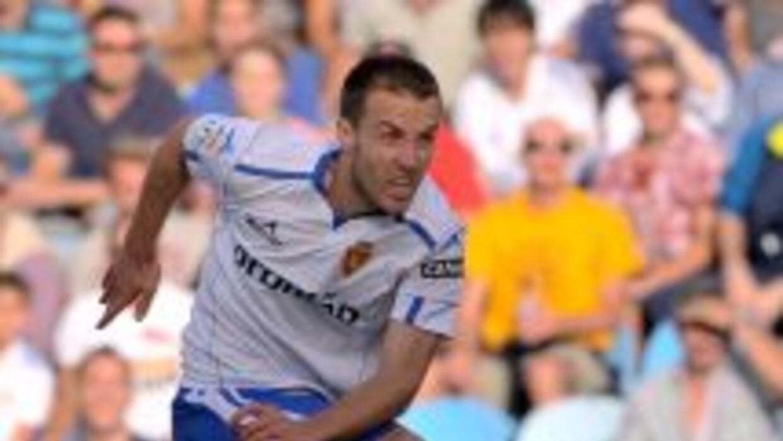 Montañez anotó en el triunfo a Zaragoza ante Levante.