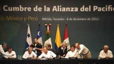 La Alianza del Pacífico fue conformada el pasado 28 abril pasado en Lima.