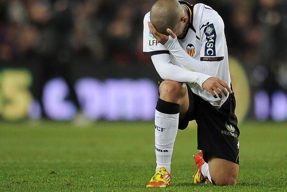 Y Valencia parecía saber lo que estaba por suceder.