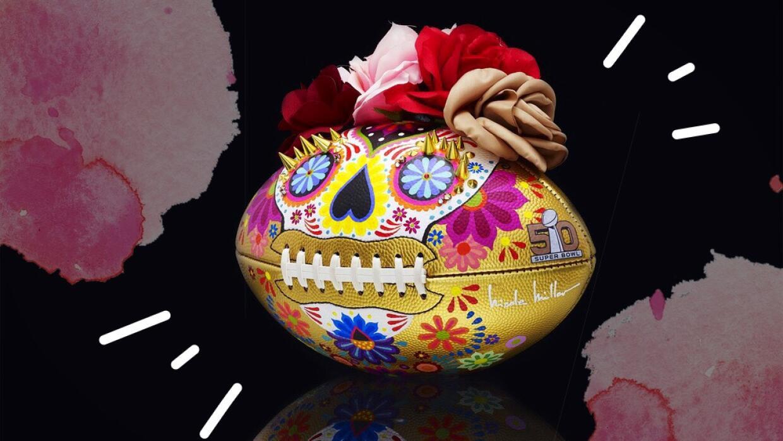 La diseñadora Nicolle Miller creó esta pelota en forma de...