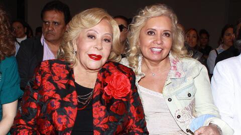 SilVia Pinal y Carla Estrada