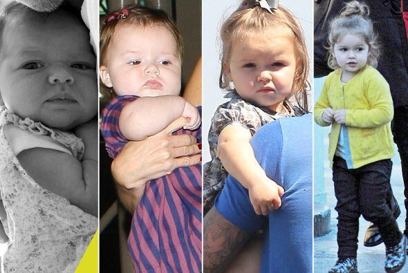 La hija de David y Victoria Beckham ha crecido muy rápido.  Mira aquí lo...