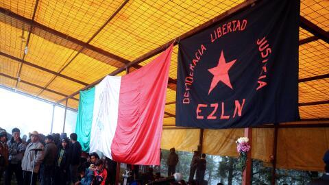 Miembros del EZLN en Chiapas. (Imagen de Archivo).