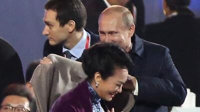 Galantería de Vladimir Putin fue censurada en China