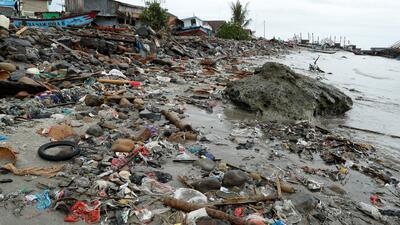 La erupción parcial de un volcán (no un terremoto) sería la principal causa del tsunami en Indonesia