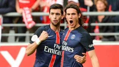 Cavani evita la derrota del París Saint-Germain en Reims