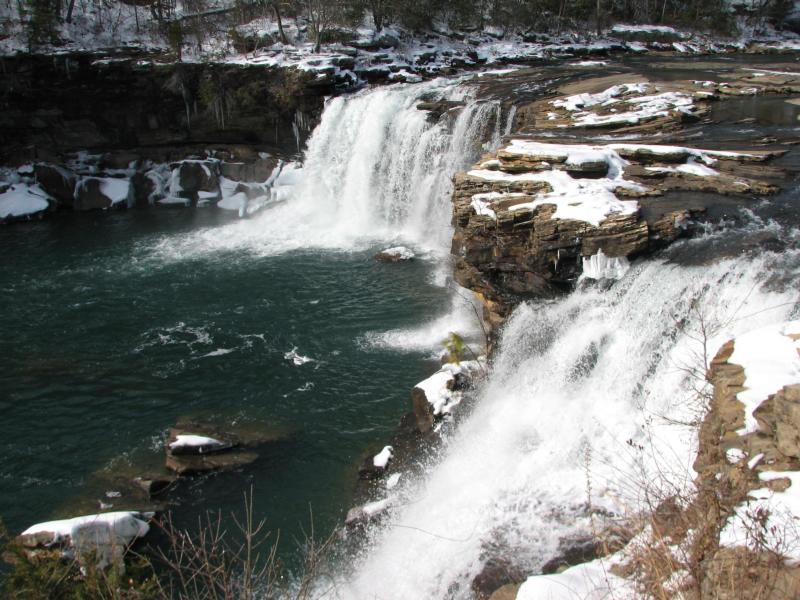 Así se ve el invierno en los parques nacionales de Estados Unidos LITTLE...