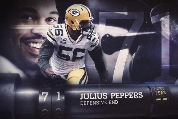 #71 Julius Peppers.
