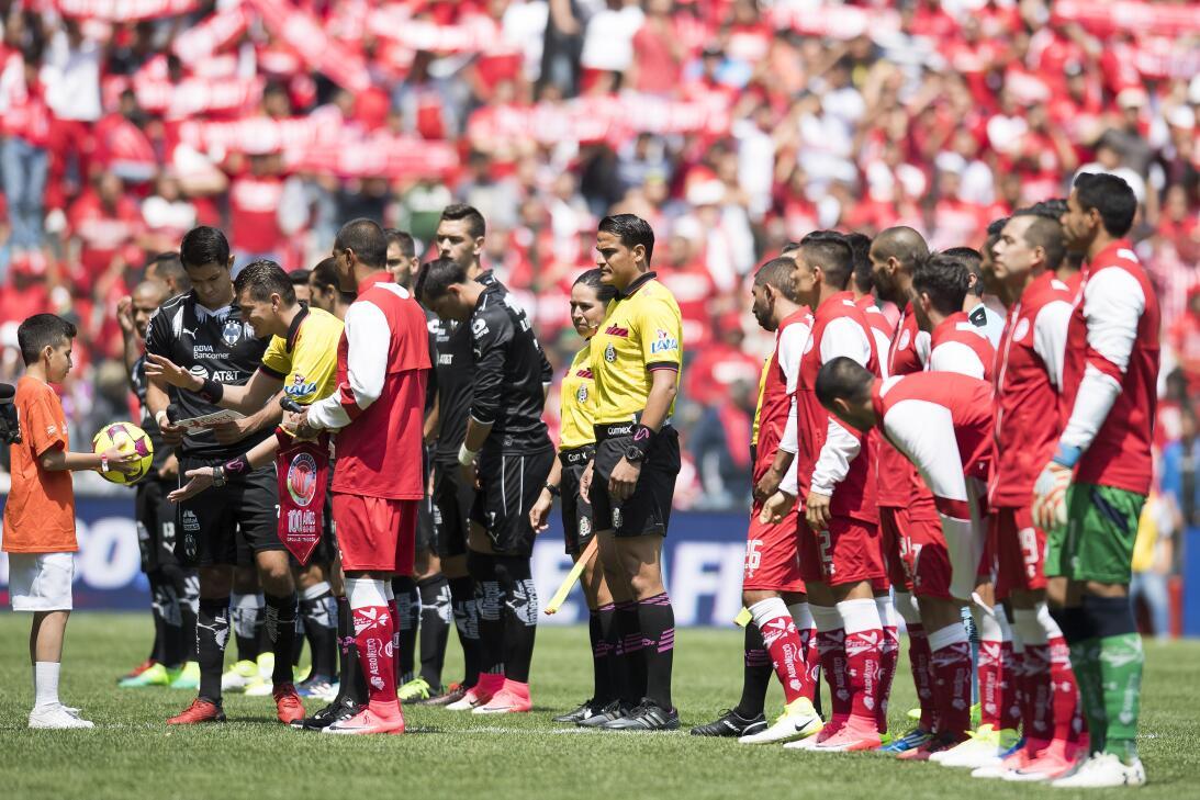 Los Diablos empatan ante Monterrey y recuperan el liderato general 20170...
