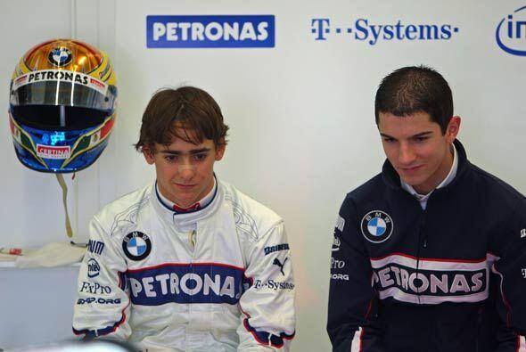 Además de Gutiérrez, Sauber firmó presentño al norteamericano Alexander...