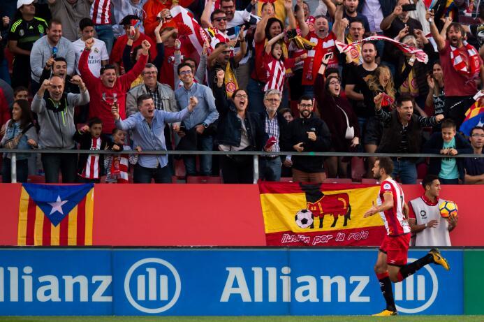 12. Christian Stuani (Girona): el equipo catalán juega su primera tempor...