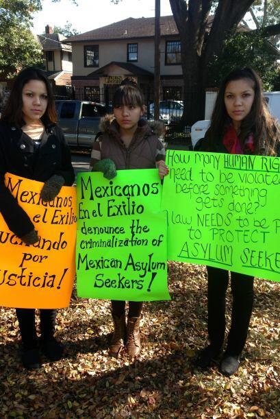 En el Día Internacional de los Derechos Humanos, las hermanas Alvarado p...