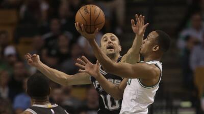 Aldridge fue una fuerza imparable para la defensa de los Celtics.