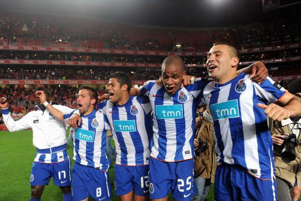 Oporto se proclamó campeón del campeonato a falta de cinco fechas.