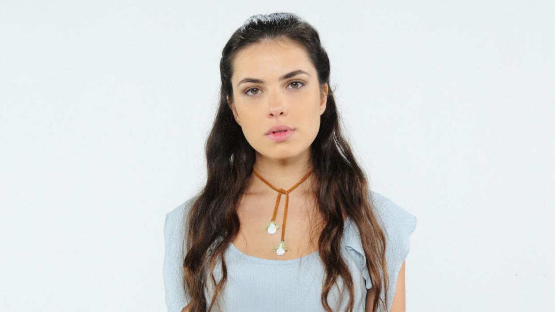 Thaís Melchior es Aruna en 'La tierra prometida'.