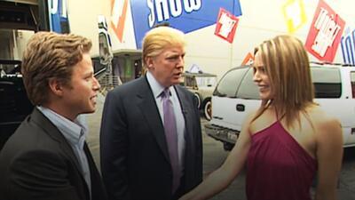 Una conversación muy obscena de Trump en 2005 sacude la campaña antes de...