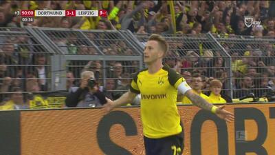 Marco Reus termina por hacer un doblete y firma la goleada sobre el Leipzig