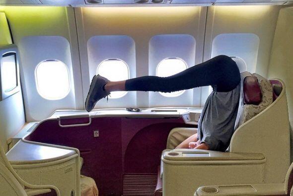 La yoga se ha convertido en una de sus actividades preferidas, hasta cua...