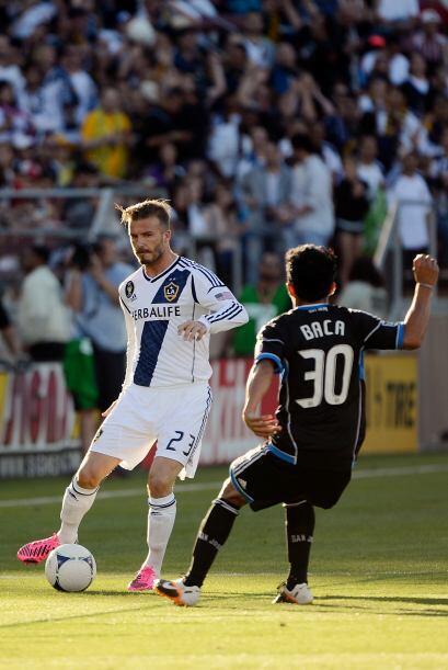 Un gol de David Beckham comenzó una reacción angelina que los tuvo con d...