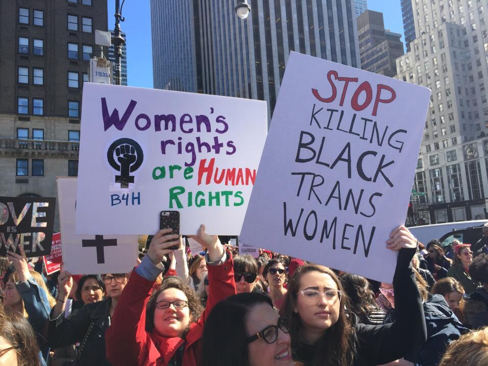 Uno de los llamados clave era la defensa de la vida de las mujeres negra...