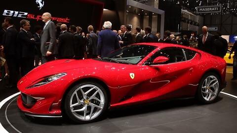 Ferrari muestra al 812 Superfast en el Auto Show de Ginebra 2017
