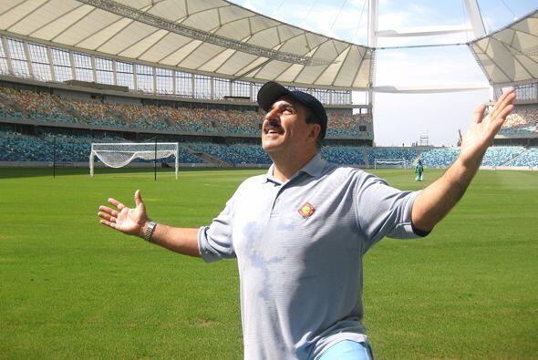 Fiore dio su aprobación para el estadio sede de una de las semifinales e...