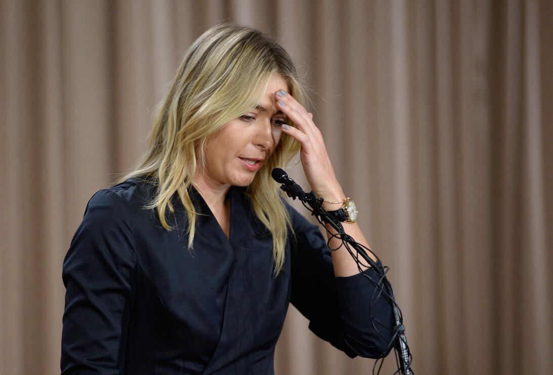 María Sharapova, proyección, belleza y escándalos a sus 30 años GettyIma...