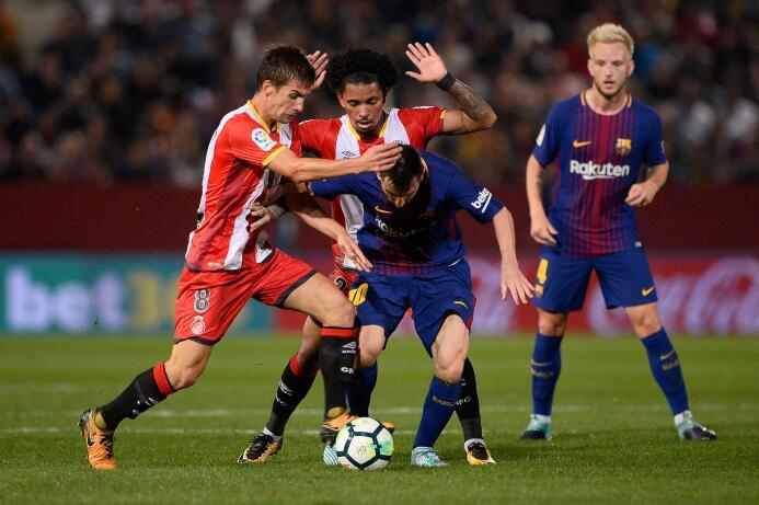 Barcelona gana, golea, asusta y mantiene ventaja al Real Madrid gettyima...