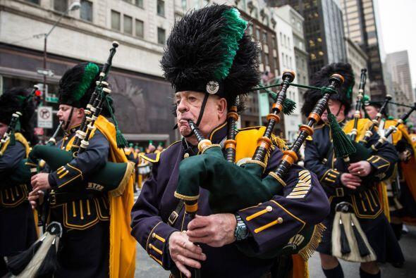 Nueva York celebró este lunes el tradicional desfile anual de San Patricio.