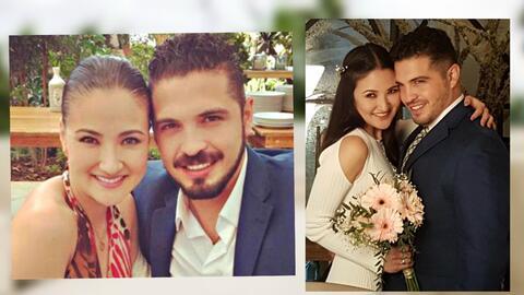 Así fue la boda de Hiromi y su viudo, Fernando Santana