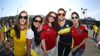 La afición colombiana llega a enamorar en el Mundial, ¿podrá su selección igualarla?