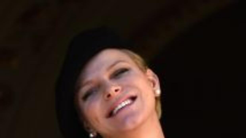 La princesa Charlene de Mónaco.