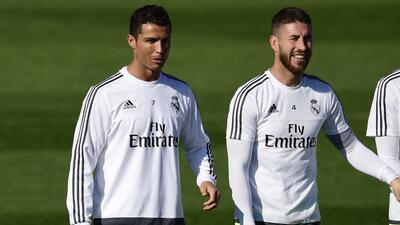 Cristiano Ronaldo y Sergio Ramos