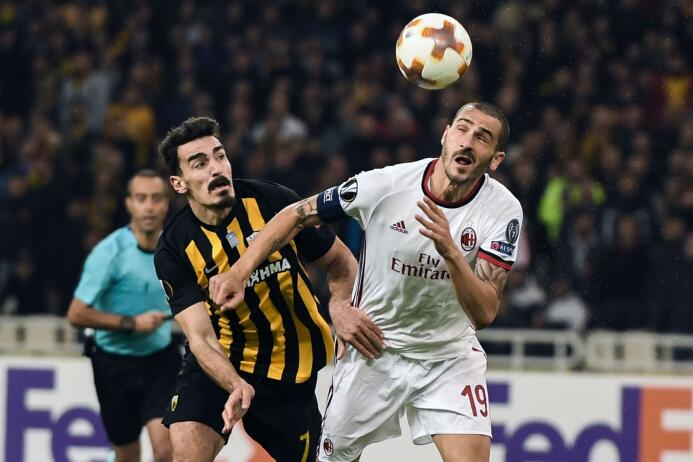 AEK Atenas 0-0 A.C. Milan: los Rossoneri aplazaron su paso a la siguient...