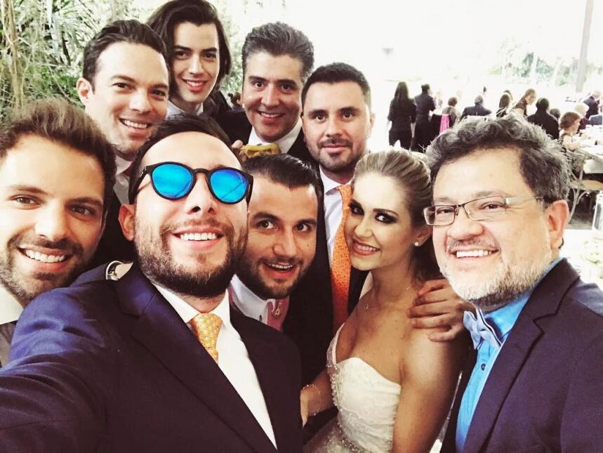 Ingrid Martz y Rodrigo Luque unen sus vidas con gran boda