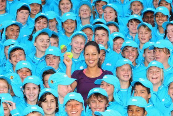 ¿Podrías encontrara a Ana Ivanovic?
