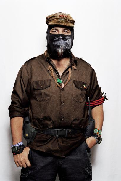 El subcomandante Marcos del EZLN cuestionó la llamada 'guerra del...