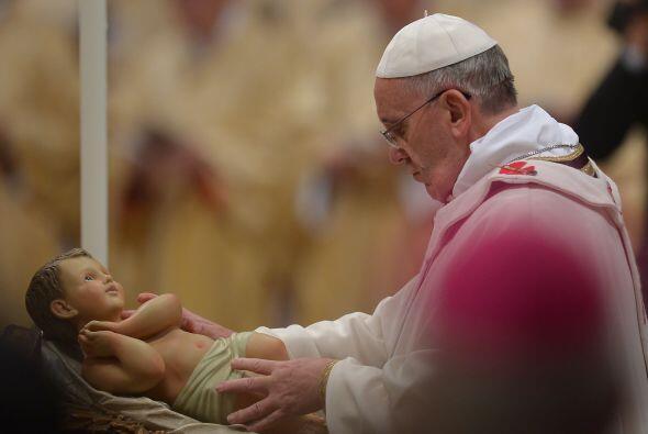 La ceremonia es la única misa pública que da el Papa en la...