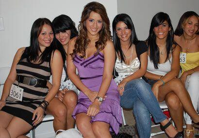 Cada chica aprovechó la oportunidad de estar en convivencia con Melissa...