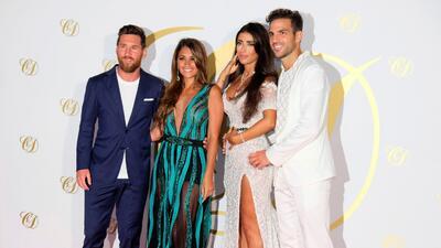 Messi, Puyol y más amigos estuvieron con Cesc Fabregas en Ibiza celebrando su boda