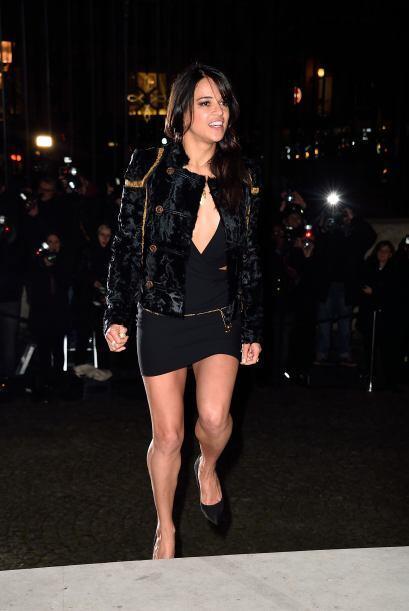 OMG! Nada más y nada menos que Michelle Rodríguez.
