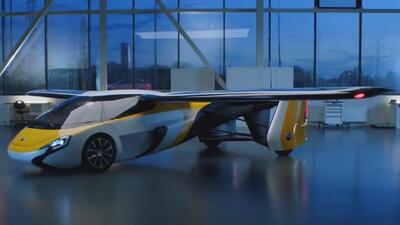 Conoce todos los detalles del auto volador que estará disponible en el año 2020
