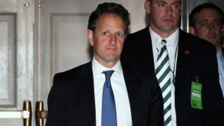 El Secretario del Tesoro, Timothy Geithner.