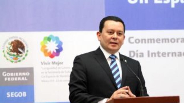 Felipe Zamora Castro, Subsecretario de Asuntos Jurídicos y Derechos Huma...
