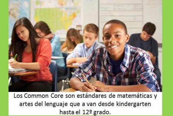 ¿Qué significan los Common Core para los estudiantes?