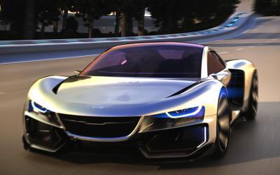 El AiroX es un concept autónomo 100 por ciento eléctrico q...